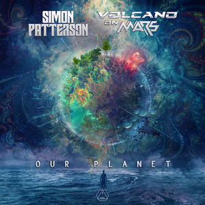 Our Planet by Simon Patterson, Volcano On Mars