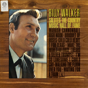 Billy Walker Salutes the Hall of Fame album