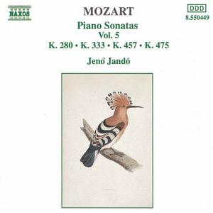 Piano Sonata No. 13 In B Flat Major, K. 333: III. Allegretto Grazioso by Jenő Jandó, Wolfgang Amadeus Mozart