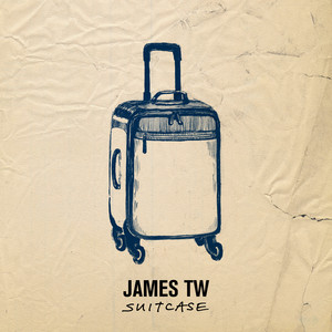 Suitcase cover art