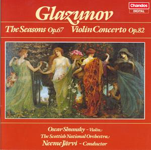 Vremena goda, Op. 67: L'Automne: Petit Adagio by Alexander Glazunov, Royal Scottish National Orchestra, Neeme Järvi