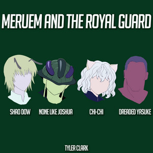 Meruem and the Royal Guard (Hunter X Hunter) cover art