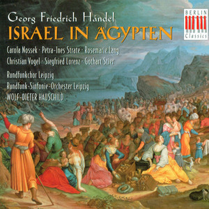 Händel: Israel in Egypt (Sung in German) [Oratorio] album