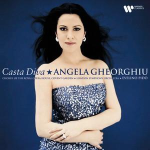 "Bellini: Norma, Act 1 Scene 4: No. 4b, Aria, ""Casta diva"" (Norma, Chorus) by Vincenzo Bellini, Angela Gheorghiu, Evelino Pidò, London Symphony Orchestra"