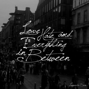 Love, Hate and Everything in Between (Deluxe Edition) album