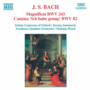 Ich habe genug, BWV 82 (version for choir and orch... cover art