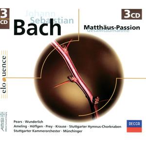 """St. Matthew Passion / Part 1: No.1 Chorus I/II: """"Kommt, ihr Töchter, helft mir klagen"""" cover art"""
