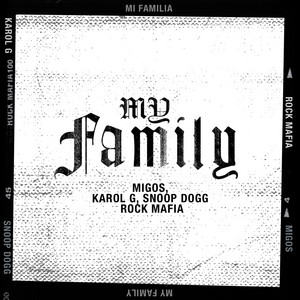 My Family cover art