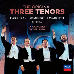 The Three Tenors - In Concert, Rome 1990 (And Selected Highlights) album