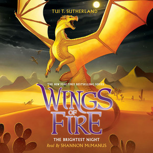 The Brightest Night - Wings of Fire 5 (Unabridged) Audiobook