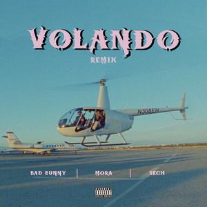 Volando - Remix by Mora, Bad Bunny, Sech