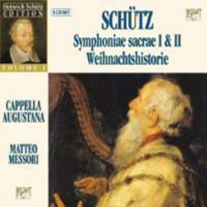Heinrich Schütz Symphoniae Sacrae I (Part I - X) Opus Ecclesiasticum Secundum Op. 6, 1629 - Swv 257-276: V Venite Ad Me Omnes Qui Laboratis cover art