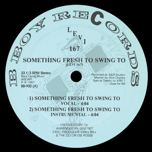 Levi 167 – Something Fresh To Swing To (Studio Acapella)