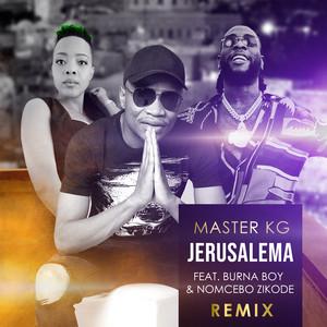 Jerusalema  - Remix cover art