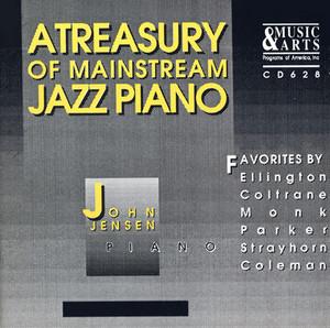 Jensen, John: Treasury of Mainstream Jazz Piano (A) album