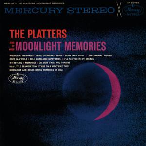 The Platters Sing Of Your Moonlight Memories album