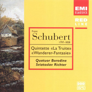 Piano Quintet in A Major, D.667 'The Trout': III. Scherzo (Presto) by Sviatoslav Richter, Borodin Quartet, Georg Hoertnagel