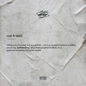 Confident cover art