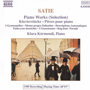 3 Gymnopédies: Gymnopedie No. 1 by Erik Satie, Klara Kormendi