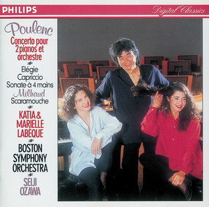 Scaramouche, Suite for 2 Pianos: 3. Brazileira (Mouvement de samba) by Darius Milhaud, Katia Labèque, Marielle Labèque