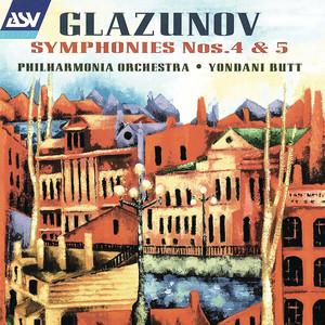 Glazunov: Symphonies Nos. 4 & 5