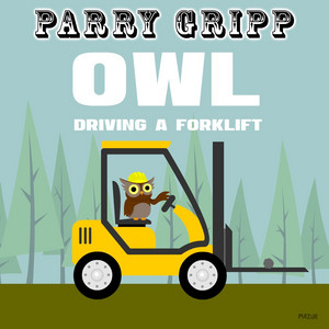 Owl Driving a Forklift