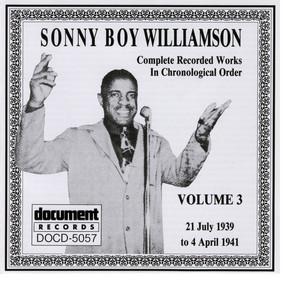 Sonny Boy Williamson Vol. 3 (1939 - 1941) album