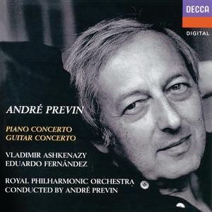 Previn: Piano Concerto; Guitar Concerto album