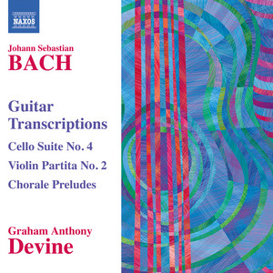 Cello Suite No. 4 in E-Flat Major, BWV 1010 (arr. G.A. Devine for guitar): IV. Sarabande by Graham Anthony Devine, Johann Sebastian Bach