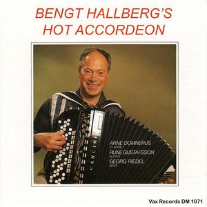Bengt Hallberg's Hot Accordeon album