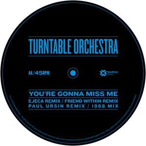 Turntable Orchestra – Gonna Miss Me (Studio Acapella)