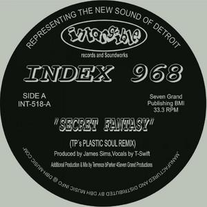 Secret Fantasy - Plastic Soul Remix cover art