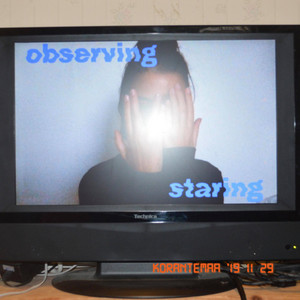 observing / staring