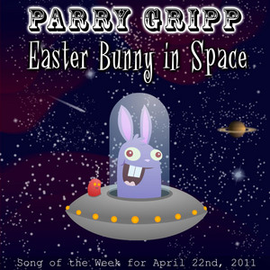 Easter Bunny In Space