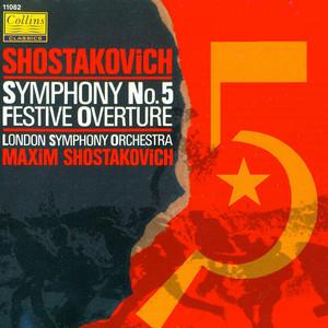 Festive Overture, Op.96 by Dmitri Shostakovich, Maxim Shostakovich, London Symphony Orchestra