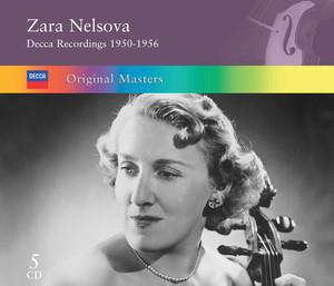 Sonata for Solo Cello, Op.8: 2. Adagio (Con gran espressione) by Zoltán Kodály, Zara Nelsova