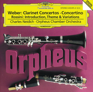 Clarinet Concerto No. 1 in F Minor, Op. 73: III. Rondo: Allegretto by Carl Maria von Weber, Charles Neidich, Orpheus Chamber Orchestra