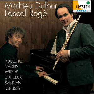Sonate pour Flute et Piano : 3 Presto giocoso by Pascal Rogé, Mathieu Dufour