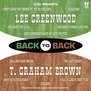 Back to Back - Lee Greenwood & T. Graham Brown album