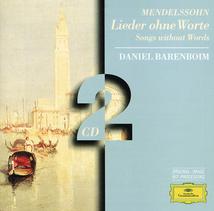 """Lieder ohne Worte, Op. 62: No. 6 Allegretto grazioso - """"Spring Song"""" by Felix Mendelssohn, Daniel Barenboim"""