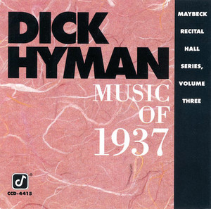 Music Of 1937: Maybeck Recital Hall Series (Vol. 3) album