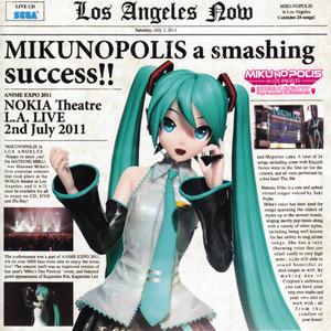 "MIKUNOPOLIS in LOS ANGELES ""はじめまして、初音ミクです"" album"