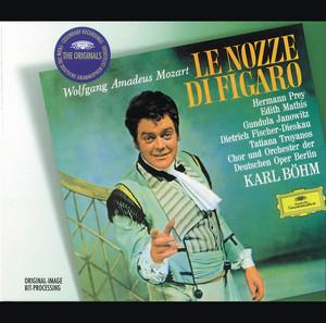 "Le nozze di Figaro, K. 492 / Act 3: ""Sull'aria ... Che soave zeffiretto"" by Wolfgang Amadeus Mozart, Edith Mathis, Gundula Janowitz, Orchester der Deutschen Oper Berlin, Karl Böhm"