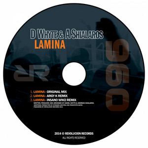 Lamina - Argy K Remix cover art