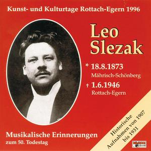 Innbrunst Im Herzen, Tannhäuser (Oper In 3 Akten) (Auszug) by Leo Slezak