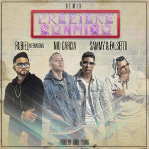 Prefiere Conmigo (Remix) [feat. Nio Garcia, Falsetto & Sammy]