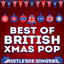 Best of British Xmas Pop cover