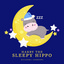 Harry the Sleepy Hippo by Haleema Andrews