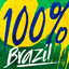 100% Brazil cover