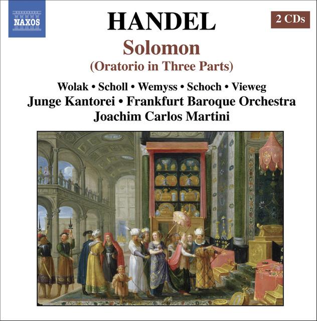 Handel: Solomon, Hwv 67